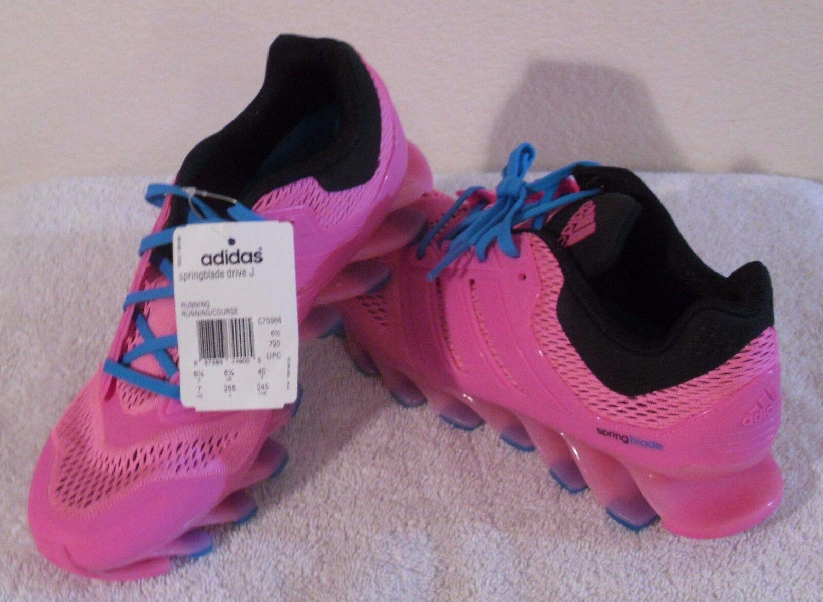 Nwt adidas springblade guidare j giovani ragazze - scarpette rosa msrp 140 - ragazze 7 e1b67c
