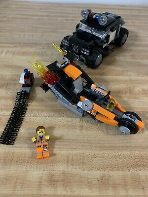 The Lego Movie Super Cycle Chase 70808 With Instructions Incomplete No Box Ebay
