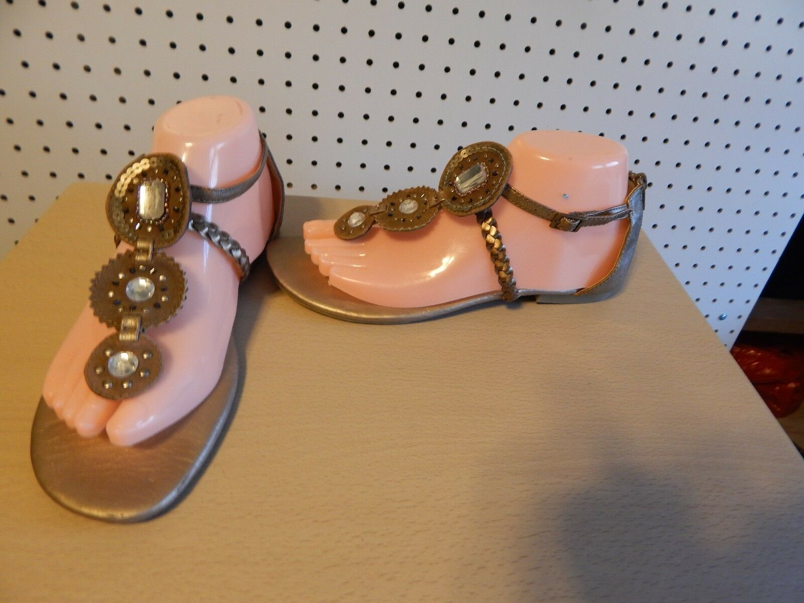 Womens jellypop - gladiator sandals - brown - jellypop size 8 - Topper 70627 f45a3b