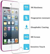 Apple IPOD TOUCH 6 HD Tempered Glass Screen Protector + FREE HEADPHONE EARPHONES
