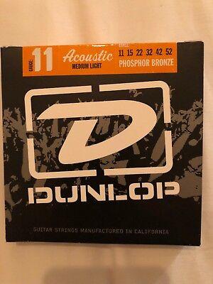 022 042 Dunlop Acoustic Phosphor Bronze Medium Light 011 052 015 032