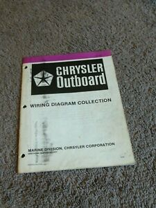 1982 Chrysler Outboard Wiring Diagram Manual 6 7.5 8 9.2 ...