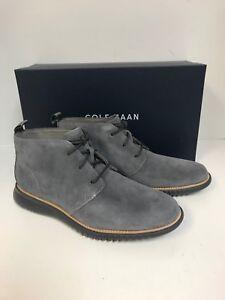 6500cdc7b6d Cole Haan Men's C27048 2.Zerogrand Chukka Gray Suede | eBay