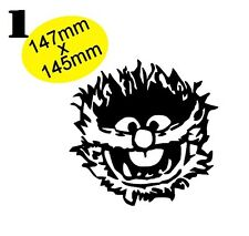 ANIMAL Muppets Gloss Vinyl Car Sticker Auto Decal Scooter Graphic Wall Art