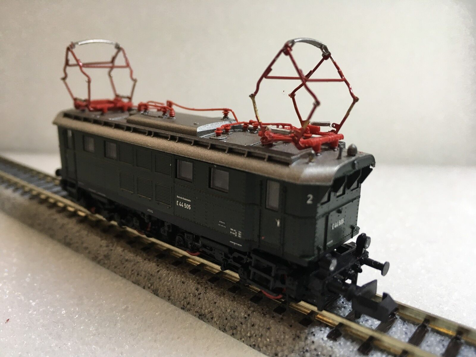 Liliput L162542 - n Spur Klasse E44 E44 E44 505 Elektrisch Bobo Lokomotive Grün   Silber  | Professionelles Design  a50279