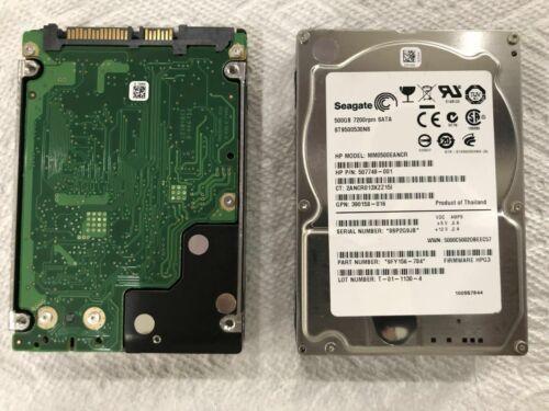 """*Lot of 20* HP 507749-001 500GB ST9500530NS 2.5/""""SATA 3Gb//s 7.2K Hard Drive"""