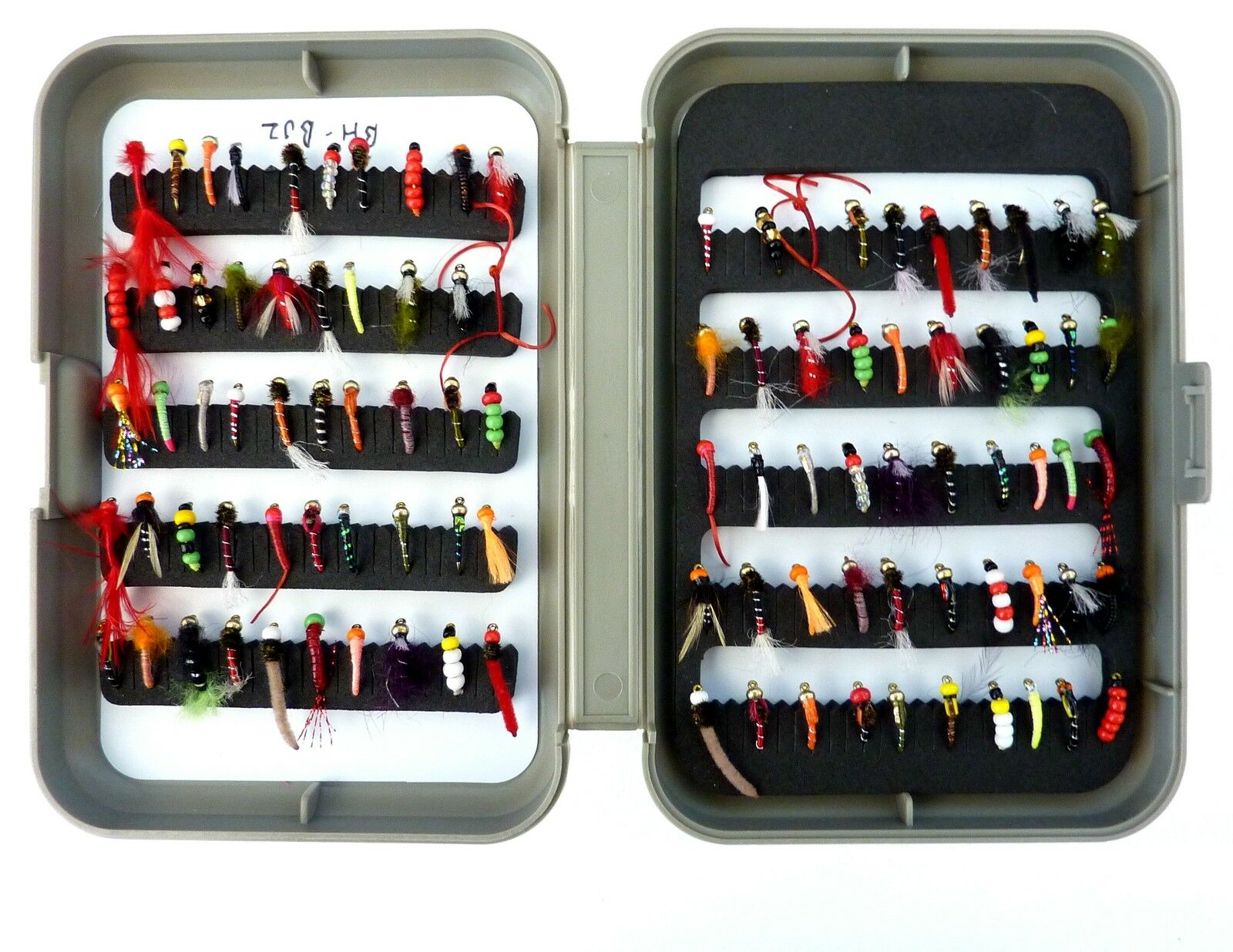 NP truites mouches et Fly Mouche, Box-Dry Mouches, Wet Mouche, Fly Buzzer mouches, nymphes. crochet 12 a7a38f