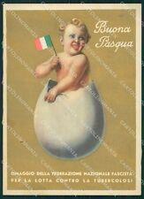 Militari Fascismo Tubercolosi FG cartolina XF1725