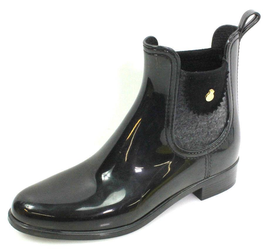 Lemon Jelly Elena Gr.38 Damen Schuhe Stiefel Stiefeletten Chelsea Boots Schwarz