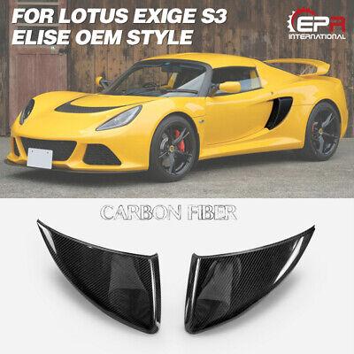 Exige 05-11 APR Performance Carbon Fiber Front Bumper Canards Set Lotus Elise