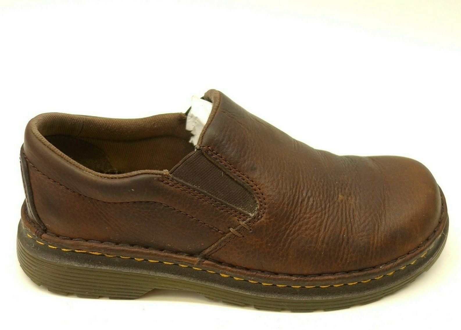 Dr. Martens Sz 7 Brown Boyle Grizzly Leather Extreme Comfort Work Womens shoes