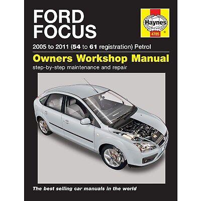 4785 Haynes Ford Focus Petrol (2005 -2011) 54 to 61 Workshop Manual
