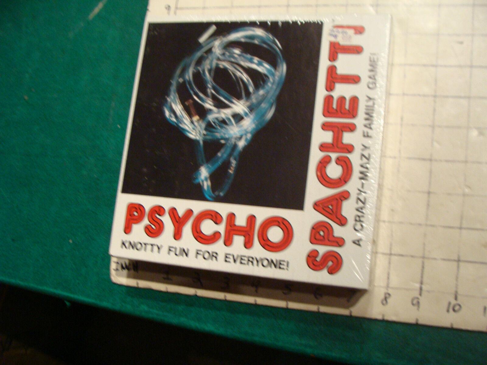 Vintage non utilisé Scellé  Psycho Spaghetti  noueuses Fun pour tout le monde, Scellé  en soldes