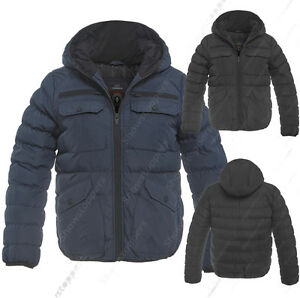 NEW-BOYS-Winter-JACKET-COAT-HOODED-Boy-Padded-Quilted-AGE-7-8-9-10-11-12-13