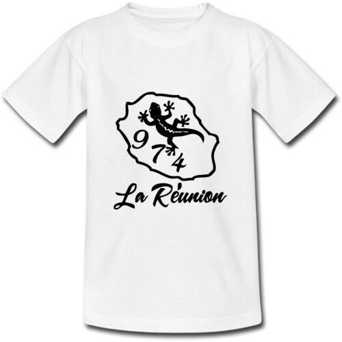 du S au 2XL T-shirt Adulte La Réunion 974