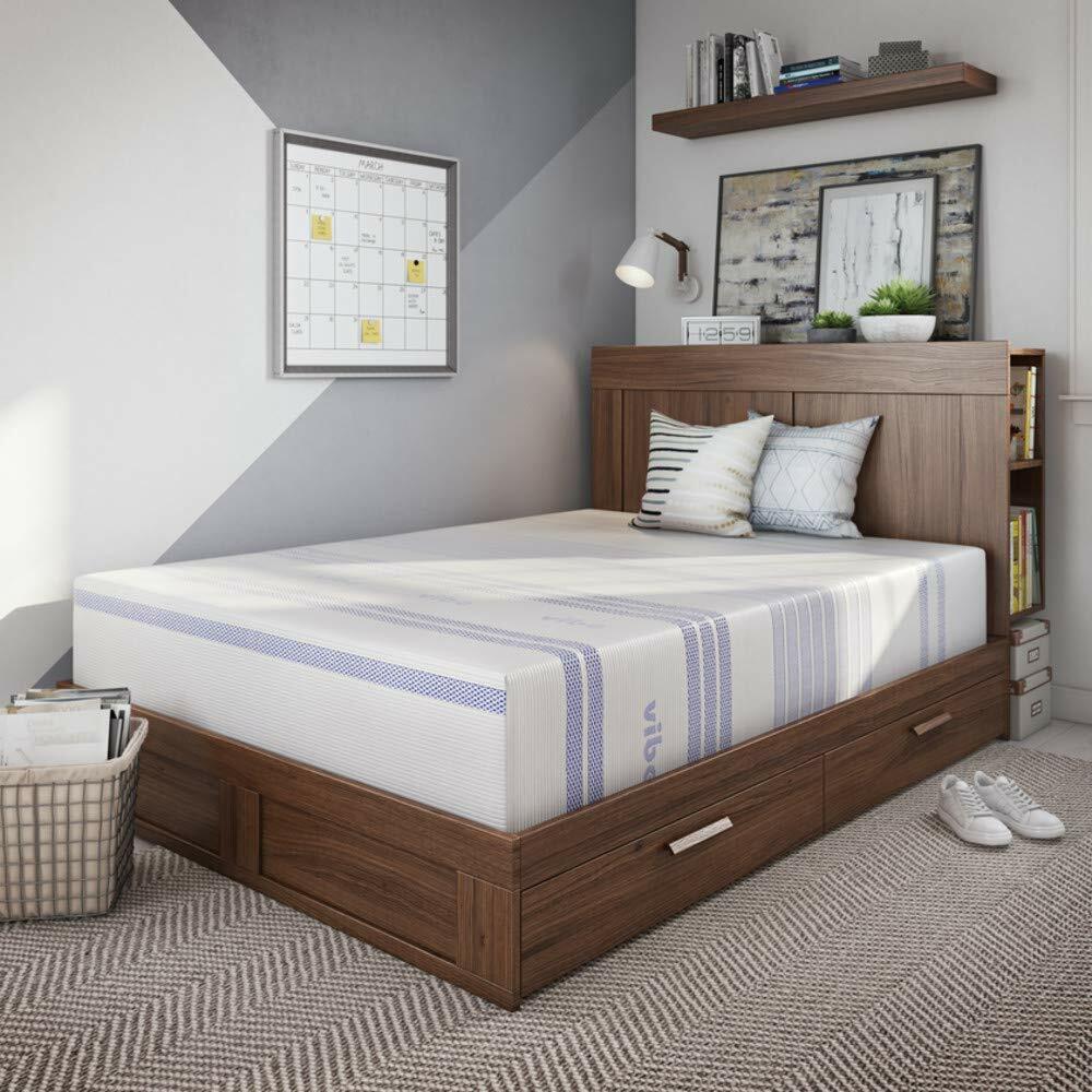 Vibe 12 Inch Gel Memory Foam Mattress Bed In A Box Mattress