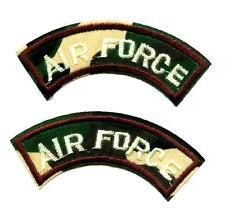 SET á 2 Air Force Army Aufnäher Patch Armee US x