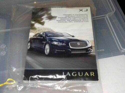 NUOVO Originale Jaguar XJ X351 Proprietari Manuale per XJ dal servizio LIBRO Pack