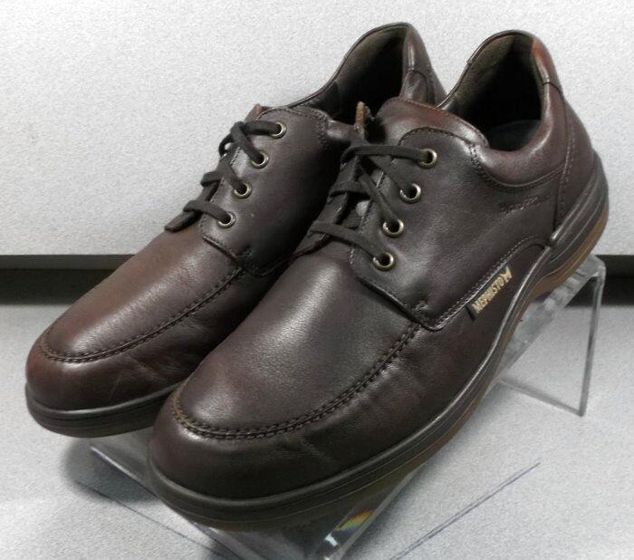 Douk Marrón Oscuro MMPF 60 para hombres zapatos talla 10 (EUR 9.5) Cuero con Cordones Mephisto