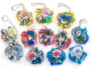 BOX Japan NEW Rubber Mascot Hypnosis Mic Division Rap Battle Key chain VS ver