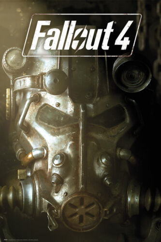 Fallout 4 POSTER-fp4041 Power Armour-Nuovissimo