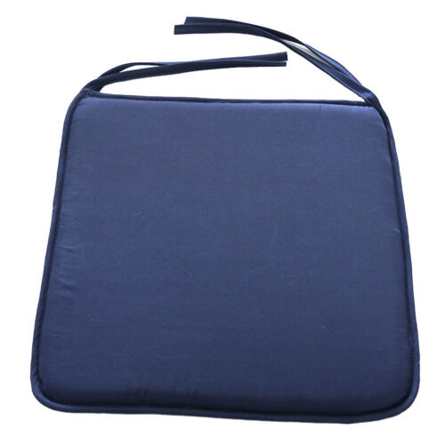 NEW Cushion Seat Pads Indoor Home Dining Kitchen Office Chair Tie On Square