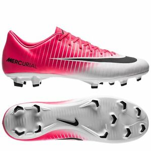 Nike Mercurial Victory VI FG 2017 Soccer Shoes Brand New White ... bc746f89d70bb