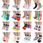[BUY5+FREE1] Choice Disney Socks !! Pixar Mickey Minnie Mouse Spongebob Socks