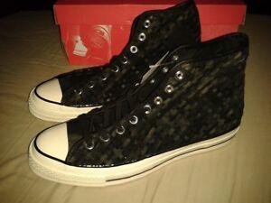 Details zu Neue Converse Chuck Taylor All Star 70 Woven High Top 151244C Size EUR 43 UK 9,5