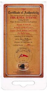100th-Anniversary-Edition-Mini-Titanic-Coal-Certificate