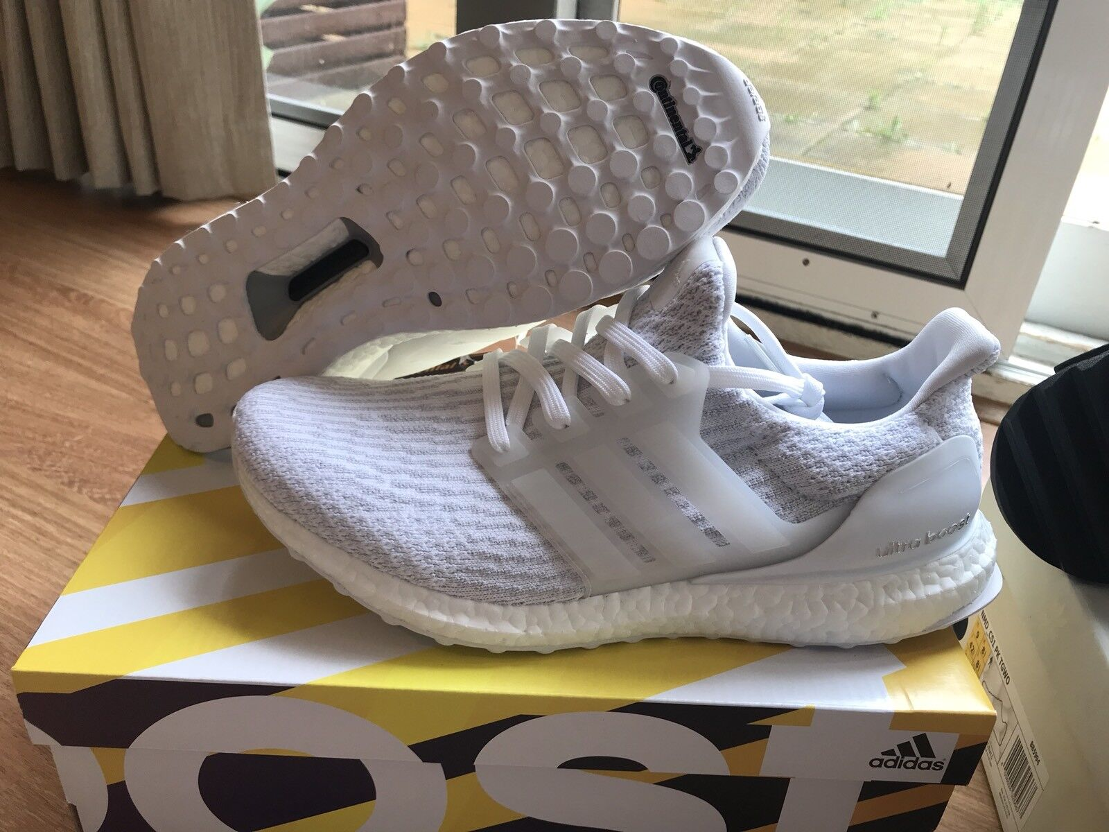 Adidas Ultra Boost 3.0 Triple Weiß US 8.5 UK 8 DS