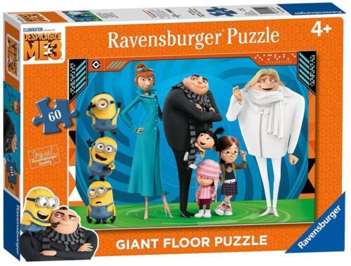 Ravensburger 05404 High Quality Despicable Me 3 60 Pieces Giant Floor Puzzle