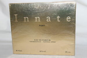 RARE NIB SEALED INMATE EDP VAPORISATEUR NATURAL SPRAY BY PARFUMS NEW LAND 3 FL O