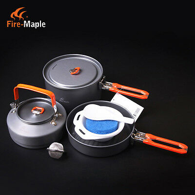 Fire Maple 2-3 Person Outdoor Camping Pots Set Picnic Cooking Cookware Feast 2