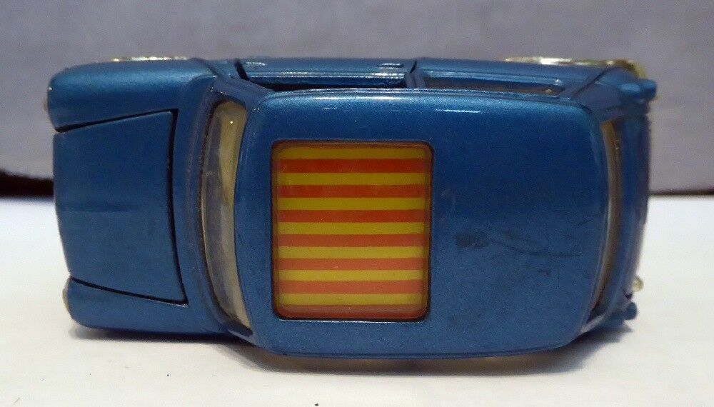 Vintage Corgi Toys    BMC Mini Cooper S Magnifique bluee Excellent Condition e07edd