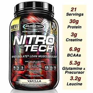 MuscleTech-Nitro-Tech-Performance-Series-Protein-2-lb-25-Servings-PICK-FLAVOR
