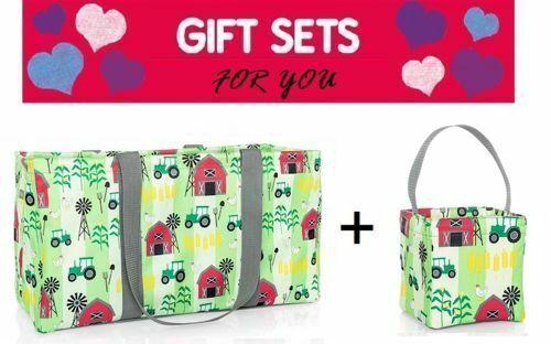 un Carry y 31 Bag utilidad grandes bolsos Caddy treinta Farm All Fun Little de Establezca Gift fRx8Eq