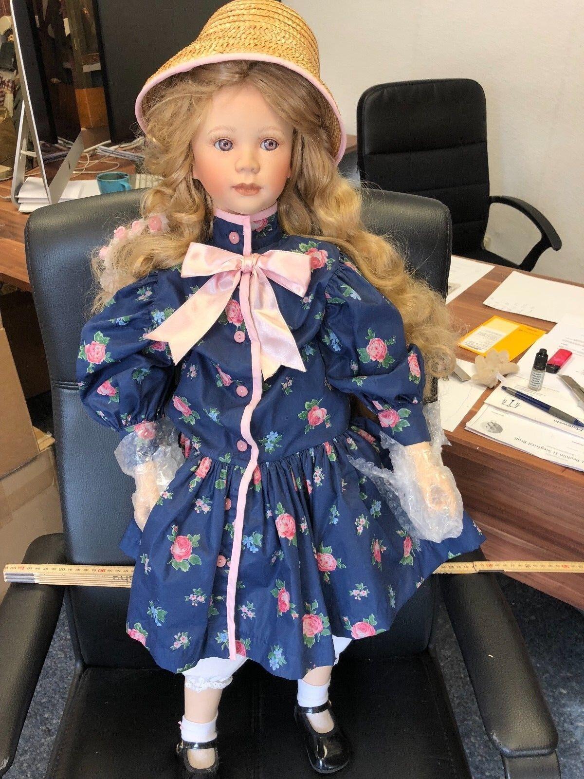 Il Kase Lepp ⭐ ⭐ bambola di porcellana 85 cm. ⭐ ⭐ ottimo stato