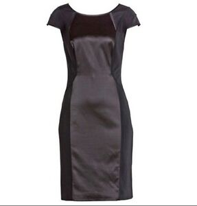 new-RRP-170-JACQUI-E-SEAMED-STRETCH-BUSINESS-DRESS-10-more-sz-in-store