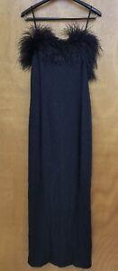 Alex-Evening-Black-Shimmery-Long-Evening-Dress-Size-10