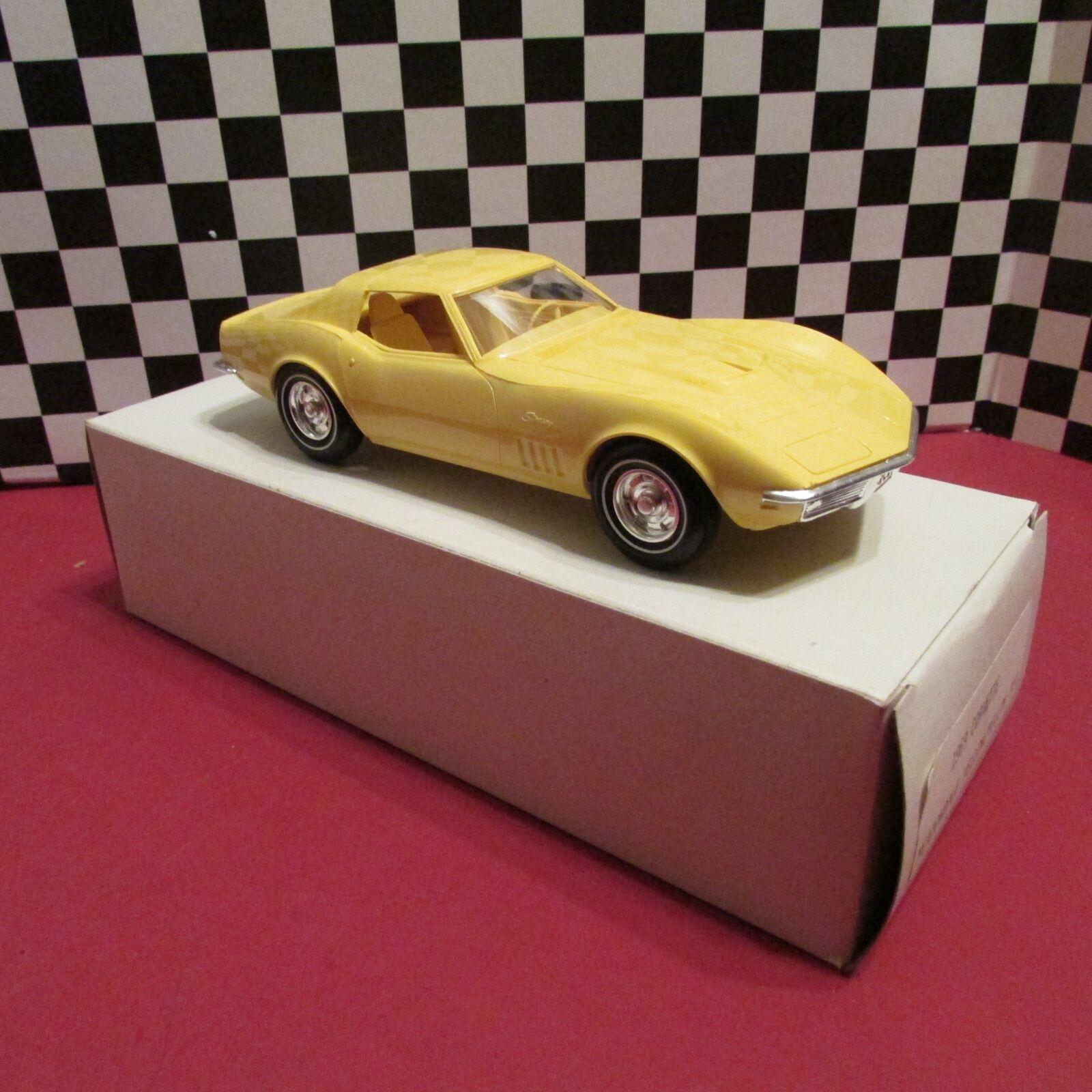 1969 Chevrolet Corvette, Corvette, Corvette, distribuidor 1   25, promoción de Cocheros, palanquín amarillo de mediana velocidad 29d