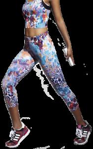 Gr S M L XL Damen Caprihose Leggings Capri Sporthose Fitnesshose 3//4 Länge