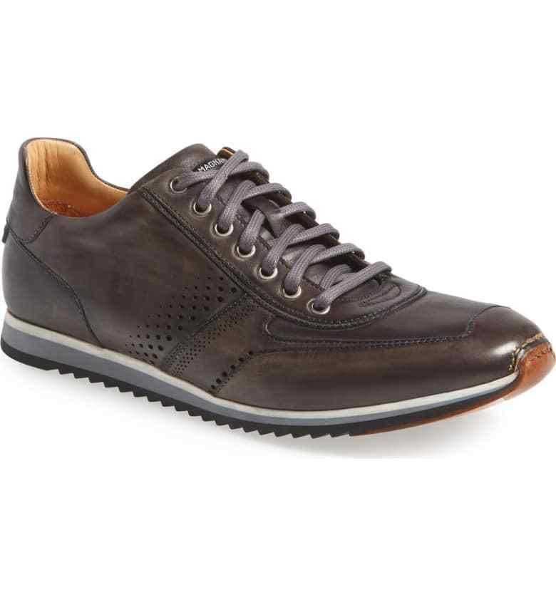 Zapatillas para hombre gris Magnanni Cristian Cuero Tamaño Tamaño Tamaño 8 m  325 82fbc6