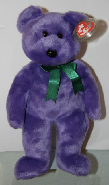 Ty Employee Bear Beanie Buddy 14