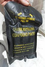 USN USMC USAF US Army Pilot & Aircrew Shark Chaser Repellent Survival Dye Packet