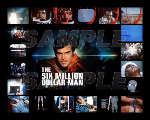 SIX MILLION DOLLAR MAN Photo C06 LEE MAJORS 8X10 or 11X14 sizes