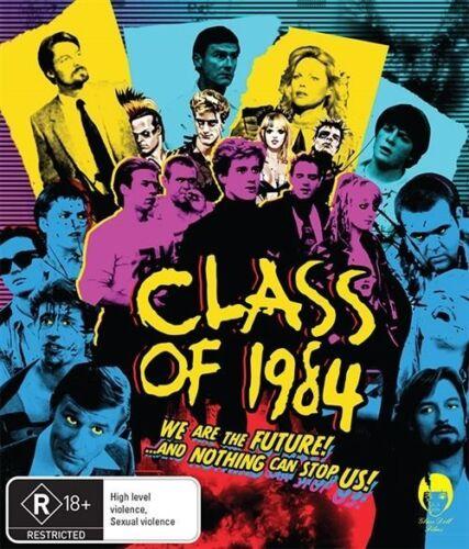 1 of 1 - *New & Sealed*  Class Of 1984  (Blu-ray, 2016) Horror Movie. Region B Australian