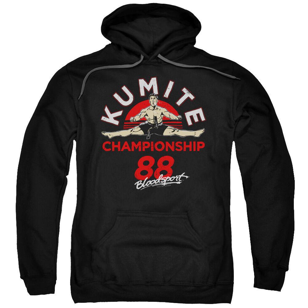 Bloodsport Movie KUMITE CHAMPIONSHIP 88 Adult Sweatshirt Hoodie