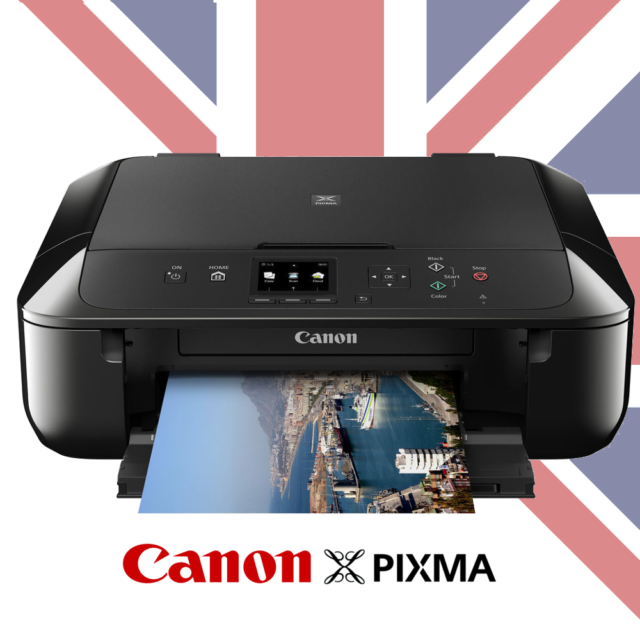NEW Canon Pixma MG5750  Wifi Printer  Copier  Scanner MG 5750 INK INCLUDED