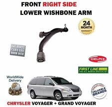 FOR CHRYSLER GRAND + VOYAGER 2000-2008 FRONT RIGHT RH SUSPENSION WISHBONE ARM